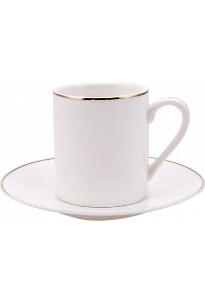 Karaca Elda 6 Kişilik Kahve Fincan Takımı