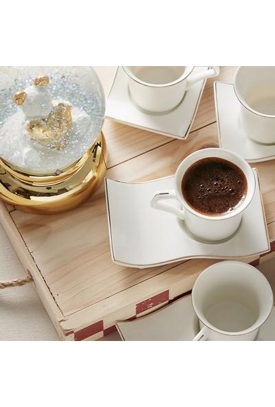 Karaca Laura 6 Kişilik Kahve Fincan Takımı