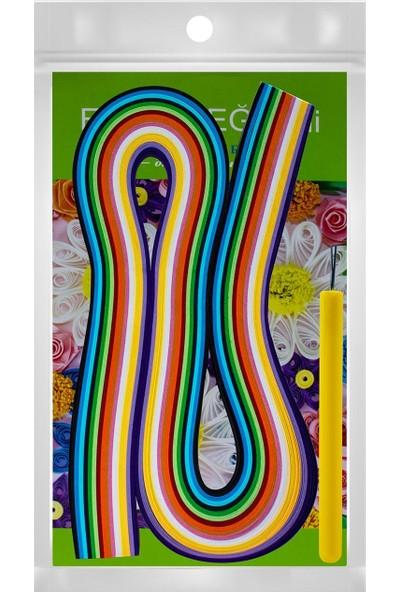 Takaloğlu Ince Quilling Katlama Sanatı Iş Eğitim Seti 5 mm x 50 cm