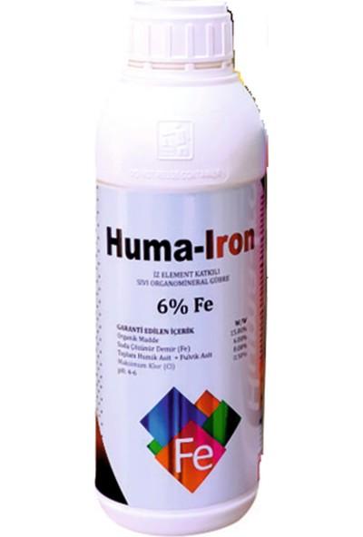 Gns Huma Iron Demir Katkılı Sıvı Organomineral Humik Asit 1 lt