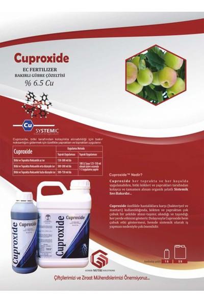 Gns Cuproxide Sistemik Sıvı Bakır Sorun Giderici Gübre 1 lt