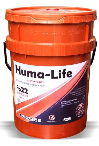 Gns Huma Life/ Max Humi Sıvı Leonardit Köklendirici Humik Asit 20 lt