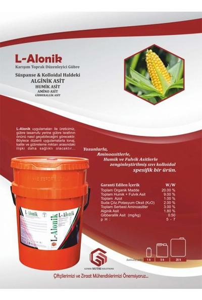 Gns L-Alonik Spesifik Aktivatörlü Sıvı Süspanse Leonardit Humik Asit 20 lt