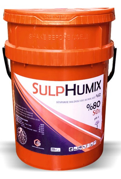 Gns Sulphumix Kükürt Leonardit Kaynaklı Sıvı Humik Asit 20 lt