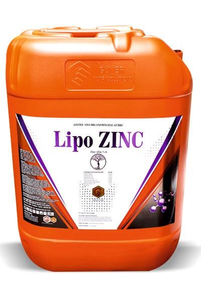 Gns Lipo Zinc Aminoasitli Çinko Azotlu Sıvı Organomineral Gübre 20 lt