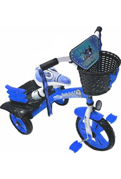 Dilaver Elegance 3 Tekerlekli Lüx Bisiklet Mavi