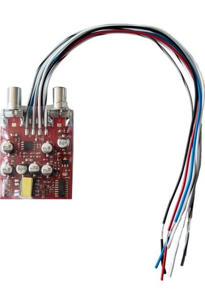 Oto Teyp Anfi Çıkış Aparatı Dönüştürücü Soundmax Sx-Dk