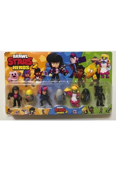 Brawl Stars Heros 4lü