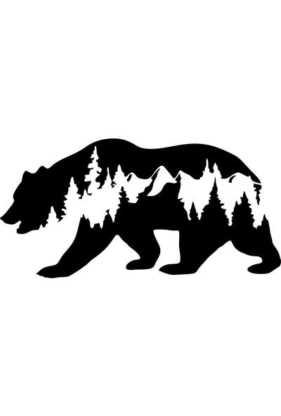 Quart Ayı Off Road Bear Off Road Hayvan Doğa Oto Sticker