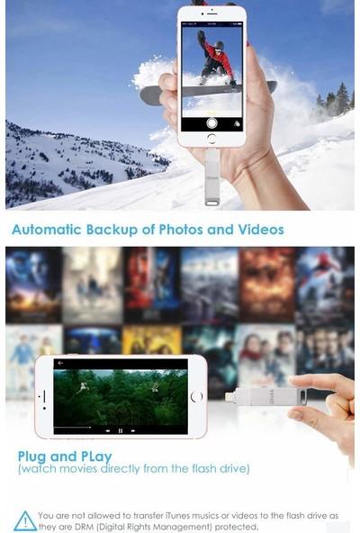 iDiskk Photo Stick Mfi Sertifikalı USB Flash Bellek (Yurt Dışından)