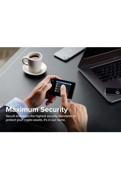 Secux W20 Bitcoin Cüzdanı Bluetoothlu Güvenli Kripto Donanım Cüzdanı (Yurt Dışından)
