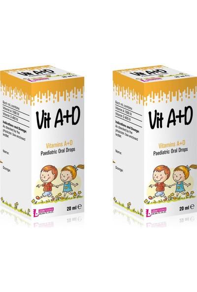 Ledapharma Ledavit Vit A+D Vitamins A+D Pediatric Oral Drops 20ML x 2 Adet