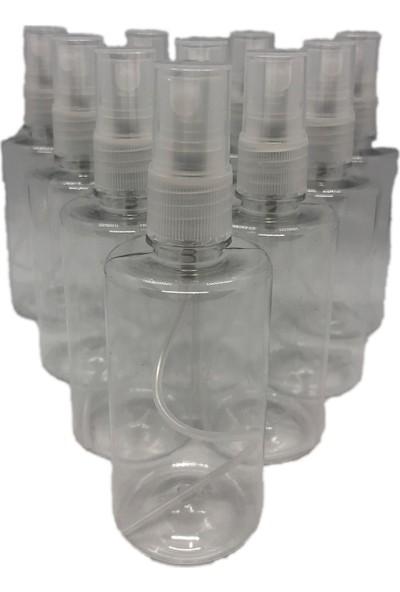 Sterilox 100 ml Kolonya ve Dezenfektan Için Boş Pet Şişe + Sprey 5 Li