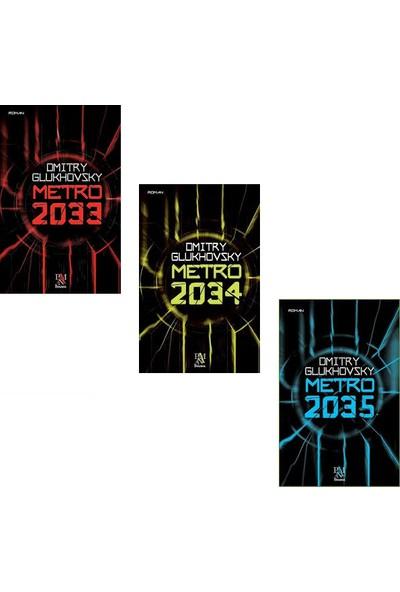 Metro Serisi 3 Kitap Set Dmitry Glukhvosky (Metro 2033-2034-2035)