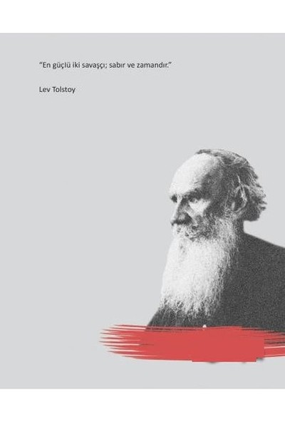 Salon Yayınları Lev Tolstoy Ciltli Defter