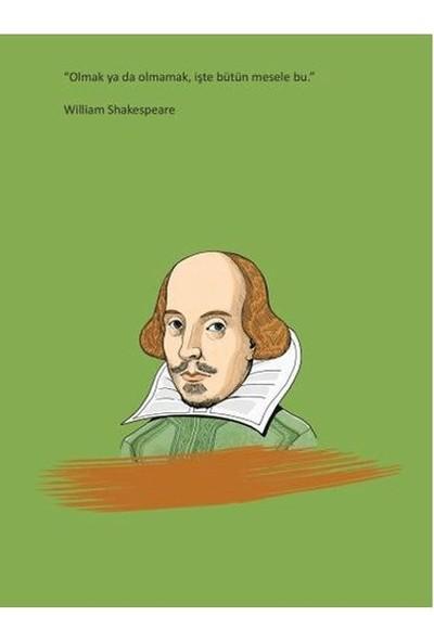 Salon Yayınları William Shakespeare Ciltli Defter