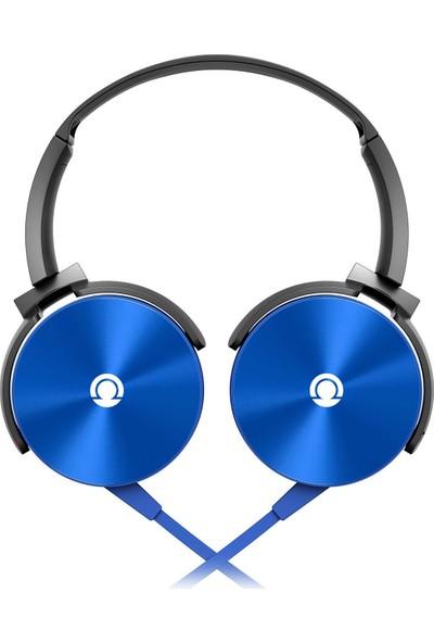 Preo My Sound MS09 Kulaküstü Kulaklık Mavi
