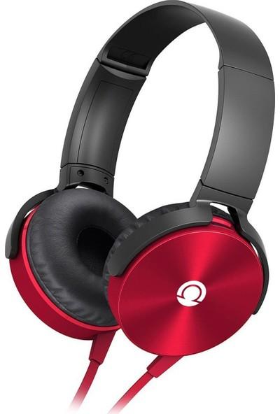 Preo My Sound MS09 Kulaküstü Kulaklık Kırmızı