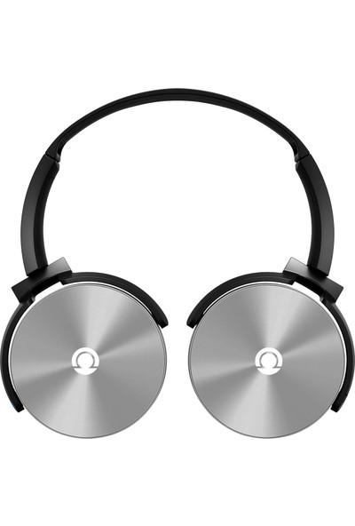 Preo My Sound MS09 Kulaküstü Kulaklık Gri