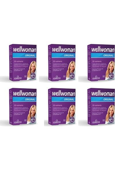 Vitabiotics Wellwoman 60 Tablet 6'lı Paket