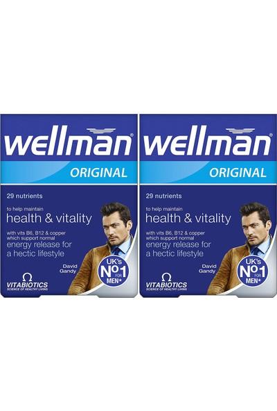 Vitabiotics Wellman 30 Tablet 2'li Paket
