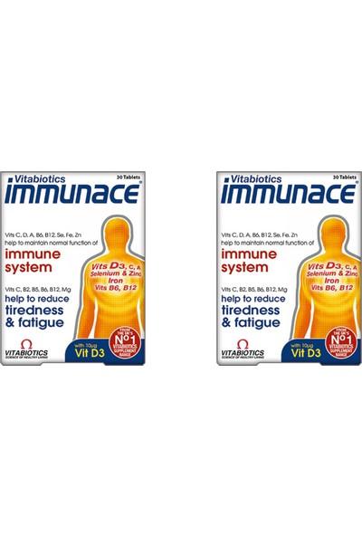 Vitabiotics Immunace 30 Tablet 2'li Paket