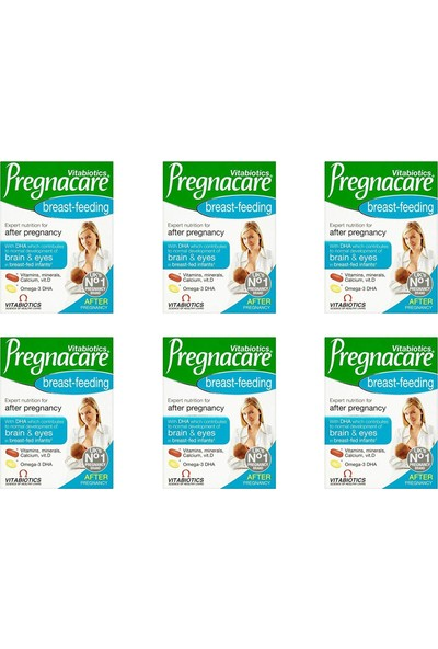 Vitabiotics Pregnacare Breast-Feeding 56 Tablet 6'li Paket