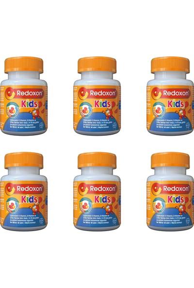 Redoxon Kids Çiğnenebilir 60 Tablet 6'lı Paket