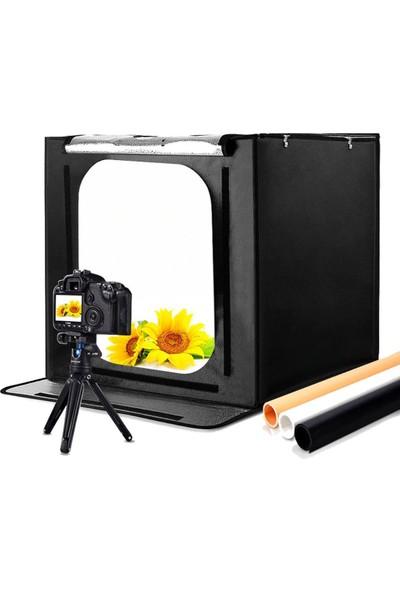 Soligor Ürün Çekim Çadırı Ledli Pro 70X70 cm Katlanabilir LED70X70