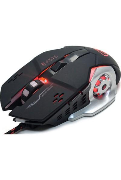 Hytech Hy-X9 Legend Oyuncu Mouse Siyah