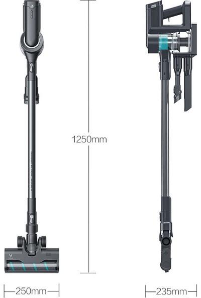 Viomi A9 23000 Pa LED Işıklı Kablosuz Dikey Süpürge - Siyah