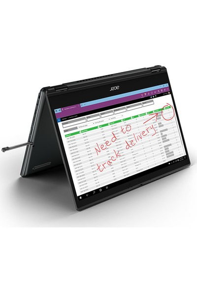 "Acer Travelmate Spin B3 Intel Celeron N4120 4GB 64GB Wındows 10 Pro 11.6"" FHD NX.VN2EX.005"