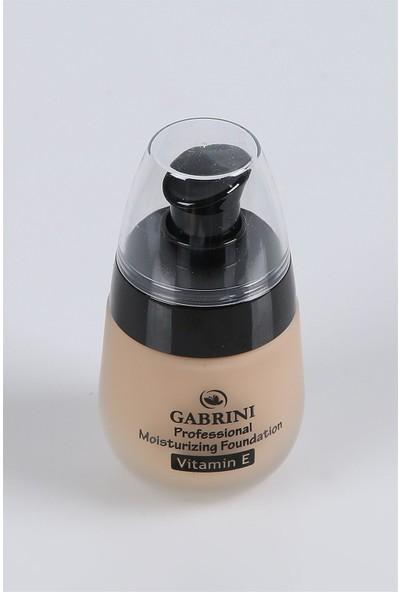 Gabrini Matte Fondöten Vitamin E No 05