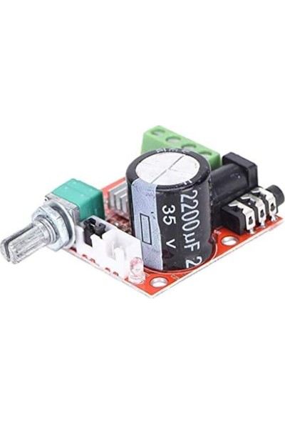 Emay Center 2X15W Amplifikatör Devresi 15W Stereo PAM8610 - Amfi Ses Pam 8610