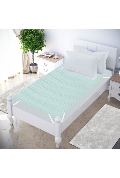 Abend® 5 Katlı Sıvı Geçirmez Yıkanabilir Yatak Koruyucu Emici Ped 180X200 Cm
