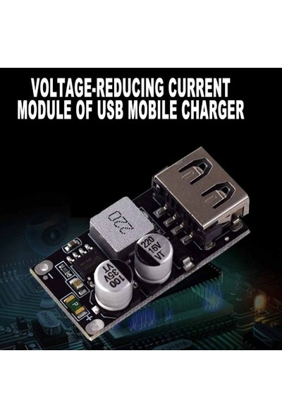 Emay Center HW-298 Dc-Dc USB Şarj Modülü Step Down Qc3.0 Hızlı Şarj