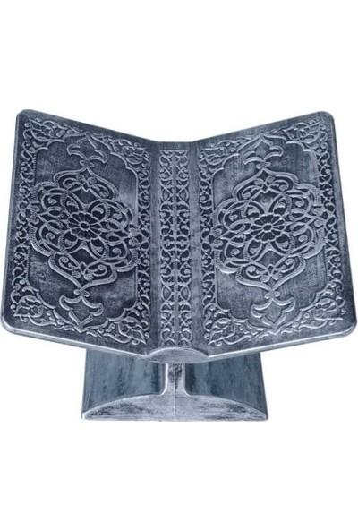 Mehmet Sami Ticaret Desenli Rahle - Gümüş Rengi