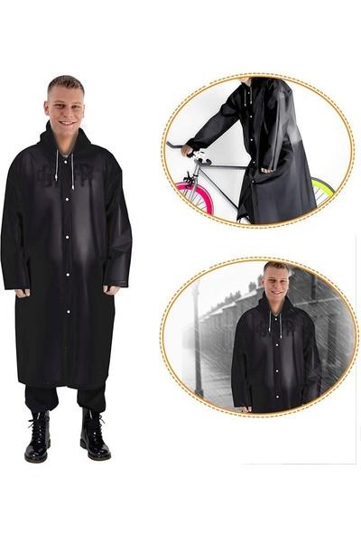Marlux Raıncoat Eva Unisex Yağmurluk - Siyah