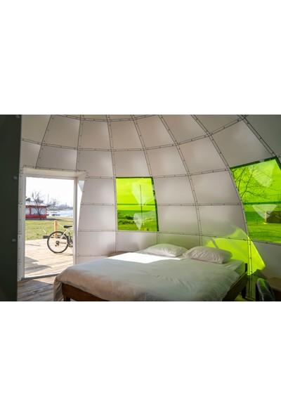 AstroGlamping-5B PATENTLİ, Banyo Bölmeli, Yüzde Yüz Modüler, Şık Tasarım 19 m2