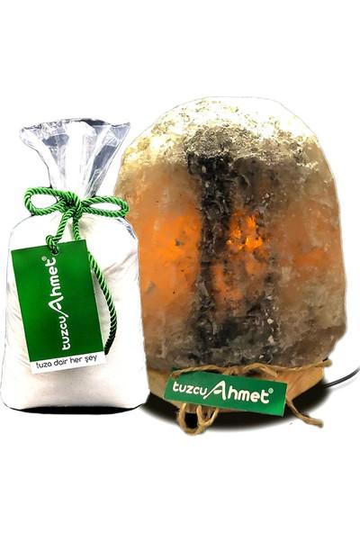 Tuzcu Ahmet Çankırı Doğal Tuz Lamba 4-5 kg 1 kg Kaya Tuzu Hediyeli
