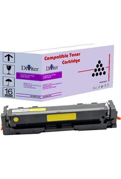 Diviter Hp W2032A (415A) M454DN / M479 Canon CRG-055 LBP-662 /663 / 664 / MF-742CDW / 744CDW / 746CX Diviter Muadil Toner Sarı