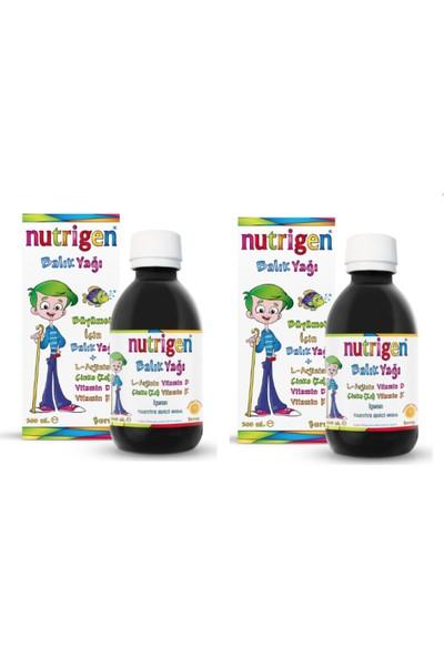 Nutrigen L-Arjinin, Çinko, Vitamin D ve Vitamin K Içeren Balık Yağı Şurubu 200 ml