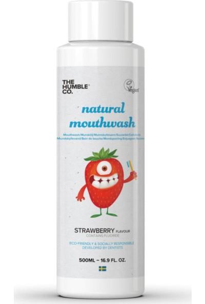 Humble Brush Ağız Bakım Suyu Çocuk Çilek Aromalı 500 ml