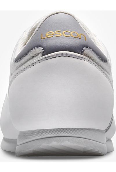 Lescon Campus 2 Beyaz Kadın Sneaker Ayakkabı