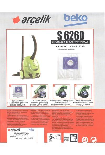 E-Ticaret Arena Beko Bks 1330 Süpürge Modeli 5 Adet Toz Torbası S 6260