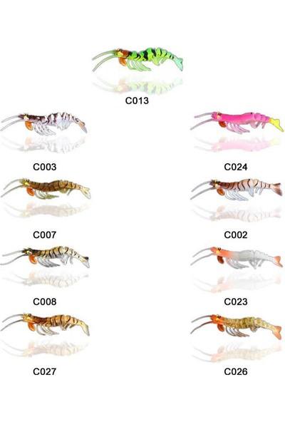 Osaka Caridina Shrimp 7.62CM 6.5gr Silikon Karides C026