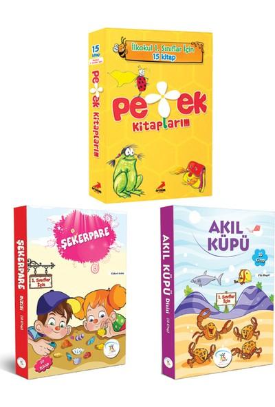 5 Renk Yayınevi 1. Sınıf Akıl Küpü-Şekerpare Hikaye Seti- Erdem Yayınları 1. Sınıf Petek Kitaplarım Hikaye Seti