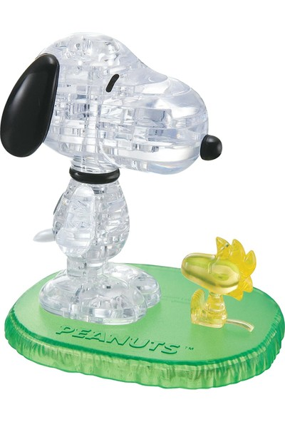 Crystal Puzzle Snoopy & Woodstock