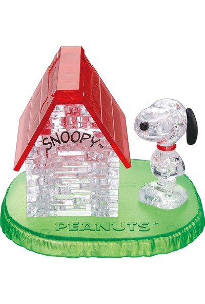 Crystal Puzzle Snoopy & House