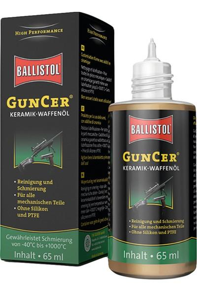 Ballistol Guncer Oil Seramik Katkılı Yağ 65ML